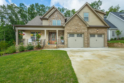 Ooltewah Single Family Home Contingent: 9434 Silver Stone Ln #24