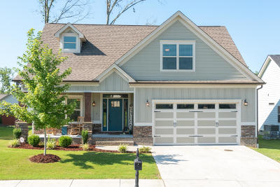 Ooltewah Single Family Home Contingent: 7980 Frostwood Ln