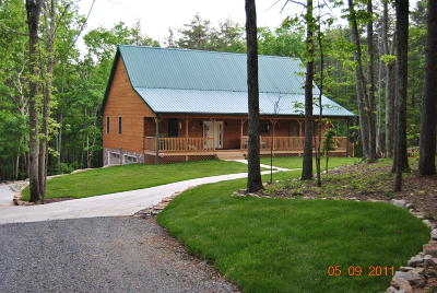Sequatchie County Single Family Home For Sale: 217 Red Rock Canyon Rd
