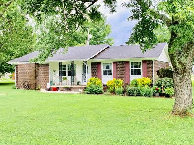Marion County Single Family Home Contingent: 221 Townsite Cir