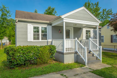 Chattanooga TN Single Family Home For Sale: $147,500