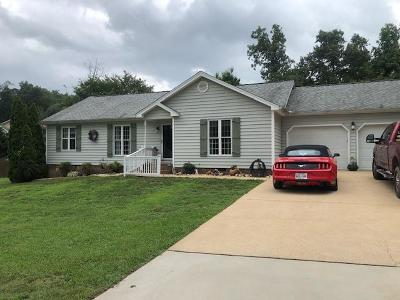 Single Family Home For Sale: 301 Wild Turkey Ln