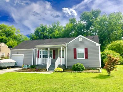 Chattanooga Single Family Home Contingent: 4702 Maryland Dr