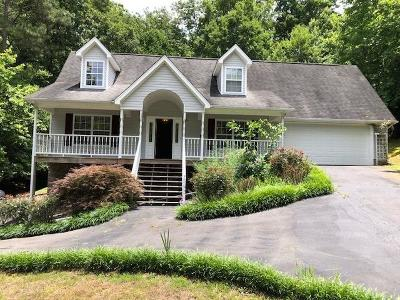 Georgetown Single Family Home For Sale: 1433 Eads Bluff Rd NW