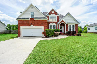Ooltewah Single Family Home Contingent: 8470 Refuge Ln