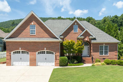 Soddy Daisy Single Family Home Contingent: 10309 Rophe Dr