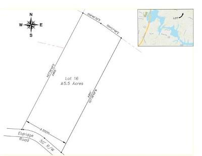 Residential Lots & Land For Sale: 1363 Eldridge Rd