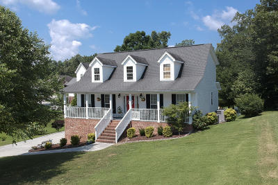 Ooltewah Single Family Home Contingent: 7229 Bushnell Ln
