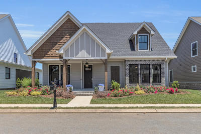 Ooltewah Single Family Home Contingent: 8750 Gentle Mist Cir