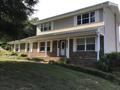Ringgold Single Family Home Contingent: 581 Foster Dr