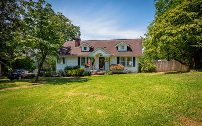 Chattanooga Single Family Home Contingent: 3824 Mission View Ave
