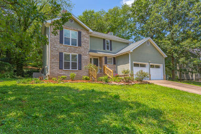 Ooltewah Single Family Home Contingent: 7014 Flagstone Dr