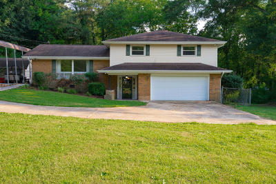 Chattanooga Single Family Home Contingent: 4538 Oakwood Dr