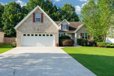Ringgold Single Family Home Contingent: 208 Big Creek Ln