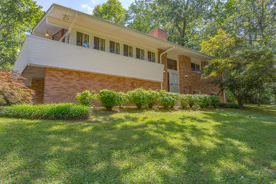 Chattanooga Single Family Home Contingent: 9347 E Brainerd Rd
