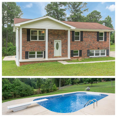 Chickamauga Single Family Home For Sale: 4041 N Marble Top Rd