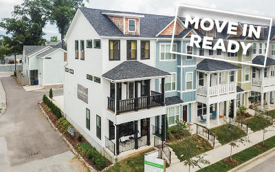 Chattanooga Townhouse For Sale: 1443 Park Ave #1