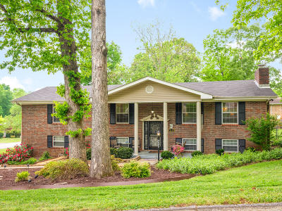 Chattanooga Single Family Home Contingent: 2515 Kimberly Ann Ln