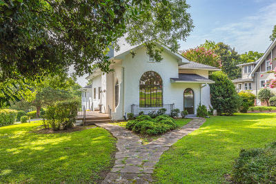 Chattanooga Single Family Home For Sale: 100 Belvoir Ave