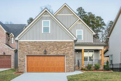 Chattanooga Single Family Home For Sale: 1354 Carrington Way #10