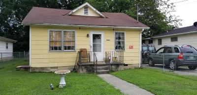 Chattanooga TN Single Family Home For Sale: $47,000
