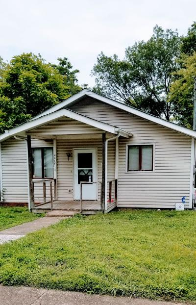 Chattanooga TN Single Family Home For Sale: $53,000