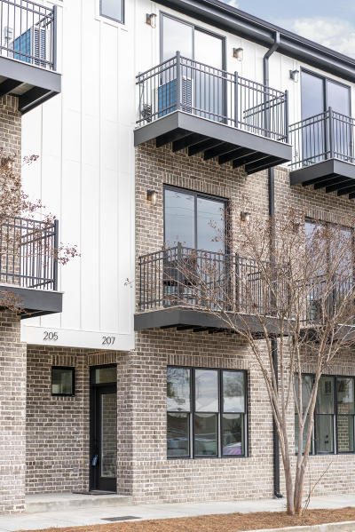Chattanooga Townhouse For Sale: 207 W 16th St #9