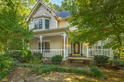 Signal Mountain Single Family Home For Sale: 27 Cool Springs Rd