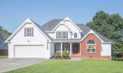 Ringgold Single Family Home Contingent: 75 Clear Springs Dr
