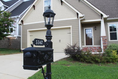 Ooltewah Single Family Home For Sale: 5562 Little Gem Ln