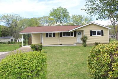 Soddy Daisy Single Family Home Contingent: 11563 Greene St