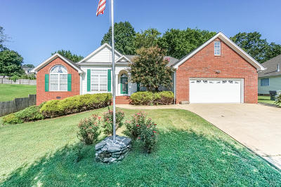 Soddy Daisy Single Family Home Contingent: 8587 Banner Elk Rd