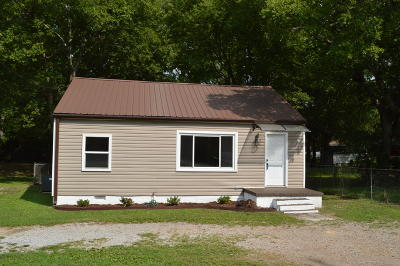 Single Family Home For Sale: 610 S Moore Rd