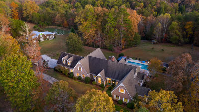 Lookout Mountain Single Family Home For Sale: 707 Mount Olive Rd