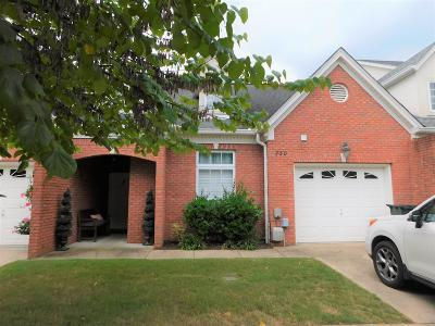 Chattanooga Townhouse For Sale: 730 Outlook Ln