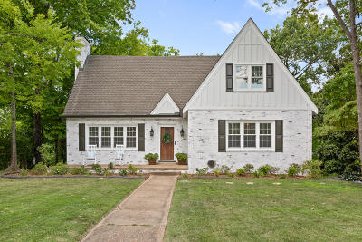Chattanooga Single Family Home Contingent: 1817 Crestwood Dr