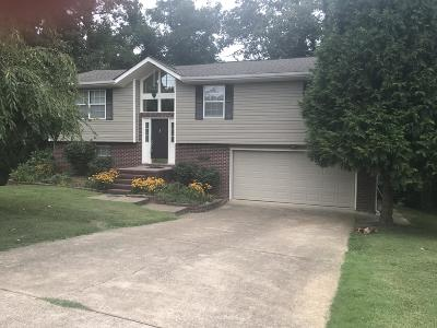Chattanooga Single Family Home For Sale: 2813 Bent Oak Rd