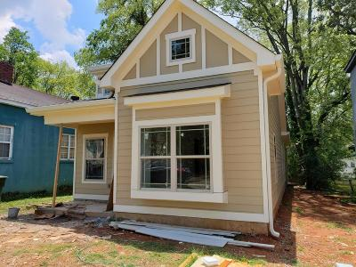 Chattanooga Single Family Home For Sale: 1512 E 12th St