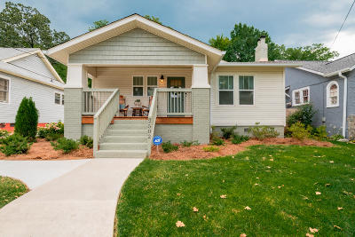 Chattanooga Single Family Home For Sale: 2502 E 5th St