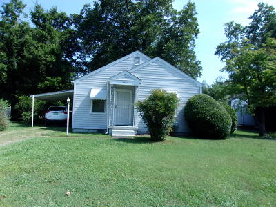 Chattanooga TN Single Family Home For Sale: $45,900