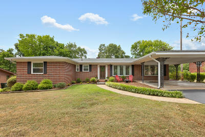Chattanooga Single Family Home For Sale: 1322 Highland Rd Rd