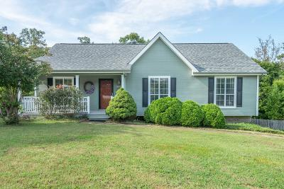 Ooltewah Single Family Home Contingent: 6117 Hunter Crest Dr