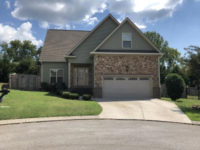 Ooltewah Single Family Home Contingent: 5352 Asher Village Dr