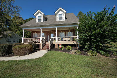 Cleveland Single Family Home For Sale: 634 Ocoee Hills Cir