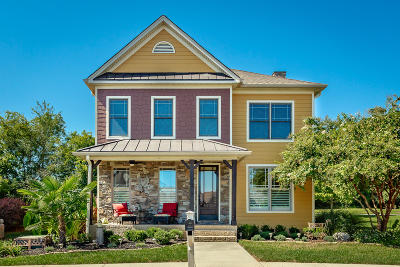 Ooltewah Single Family Home Contingent: 8815 Gentle Mist Cir