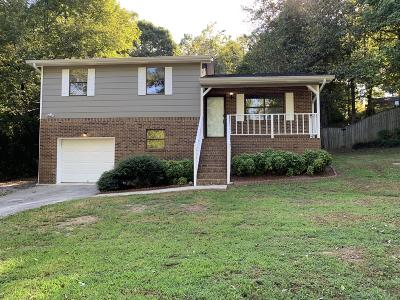 Chickamauga Single Family Home For Sale: 1517 Mill Wee Hollow Rd