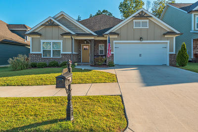 Ooltewah Single Family Home Contingent: 8435 Gray Fox Ct