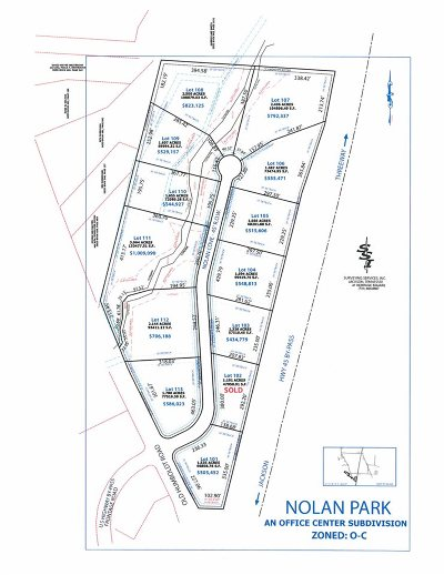 Commercial Lots & Land For Sale: 12 Nolan (Lot 101)