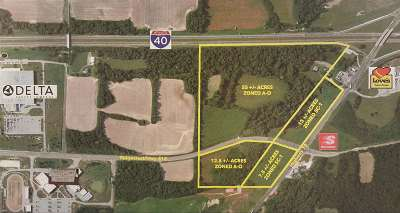 Commercial Lots & Land For Sale: Ridgecrest @ Hwy 70 E