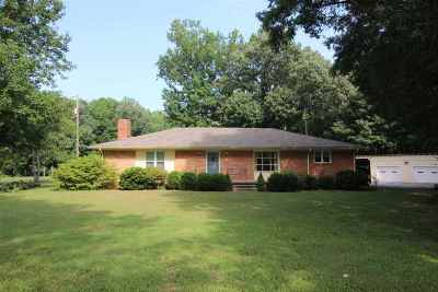 Jackson TN Single Family Home Back On Market: $190,000